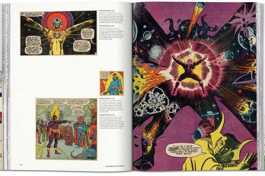 Páginas de 'La Era Marvel de los Cómics'
