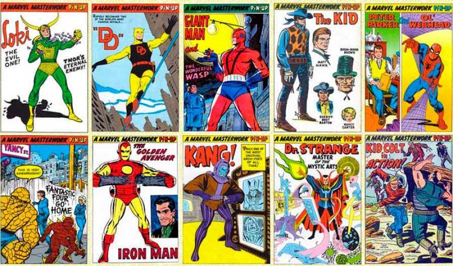 Personajes Marvel de los 60