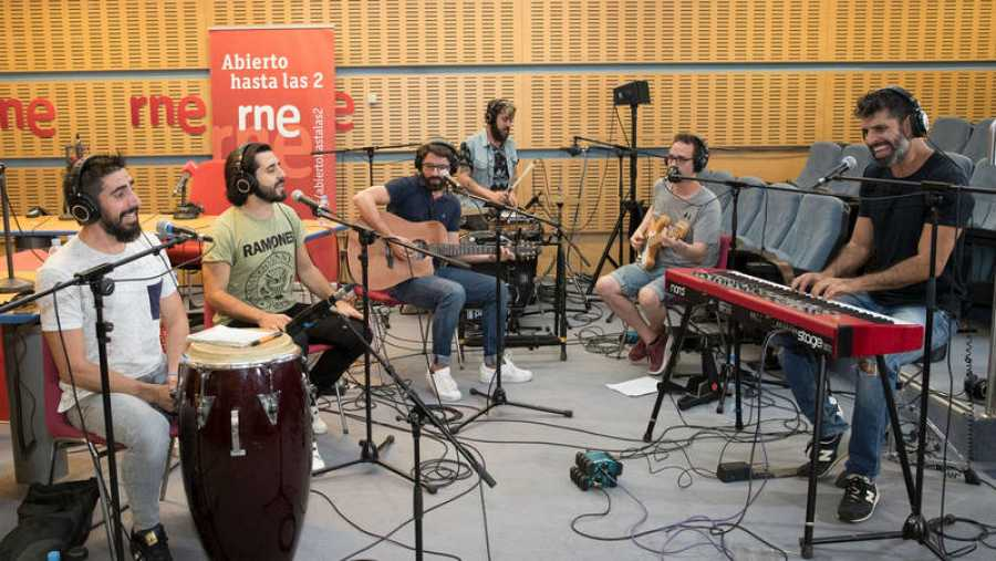 Bueno Rodríguez, Alberto Trillo, Jorge Carmona, Jesús Pérez, Eduardo Fernández y Juanjo Martín