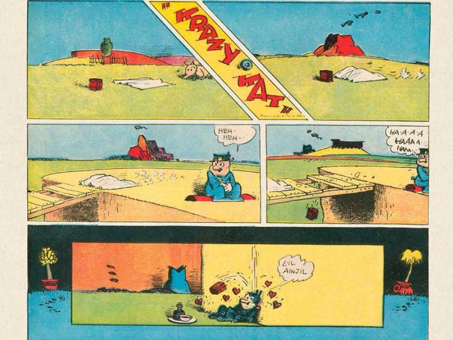 Viñetas de 'Krazy Kat'