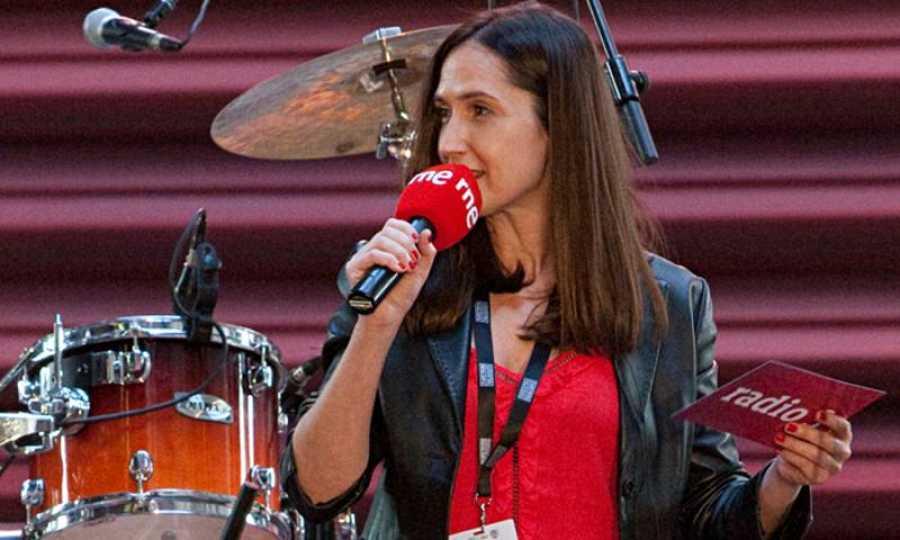 Virginia Díaz, mejor presentadora de radio.