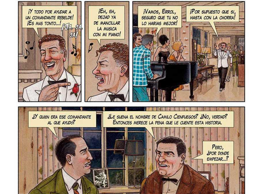 Viñetas de 'Arde Cuba'