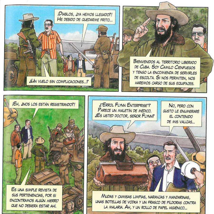 La aparición de Camilo Cienfuegos