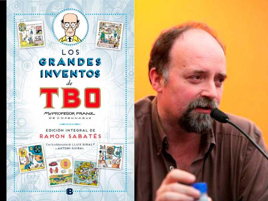 Portada de ' Los grandes inventos de TBO. Edición integral de Ramón Sabatés' y Antoni Guiral