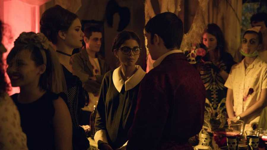 Nerea se acerca sospechosamente a Rocío y Hugo