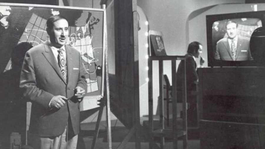 Mariano Medina, uno de los primeros 'hombres del tiempo' de TVE