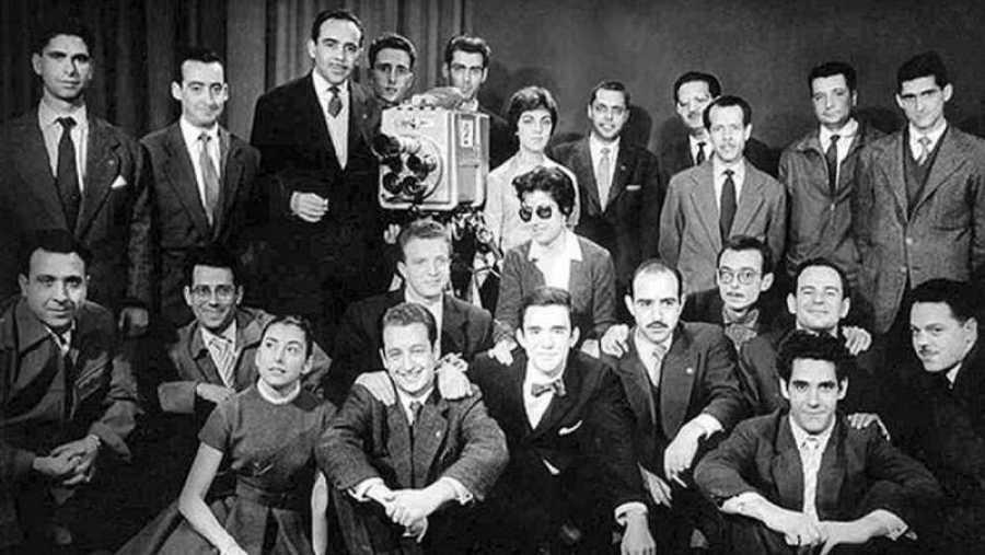 Primeros equipos de los programas de TVE