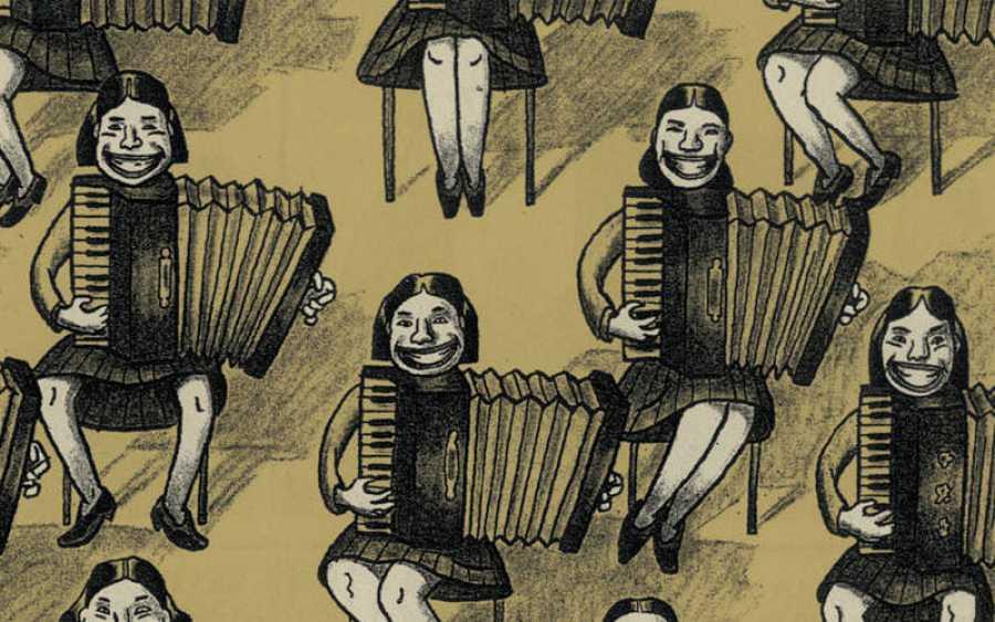 Ilustración de Guy Delisle