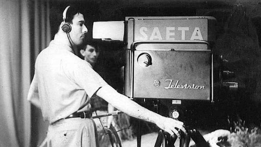 Raúl Fontaina, uno de los fundadores de la televisión uruguaya