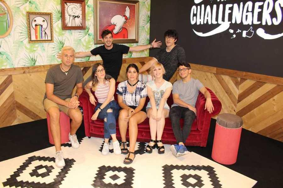Los youtubers se darán cita en 'The challengers' a partir del domingo 12 de noviembre