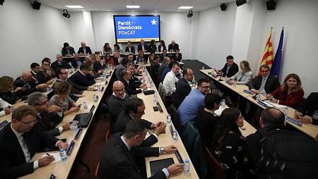 Reunión del Comité Nacional del PDeCAT.