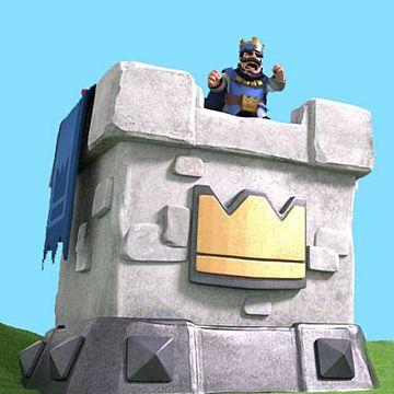 Clash Royale - Torre del rey