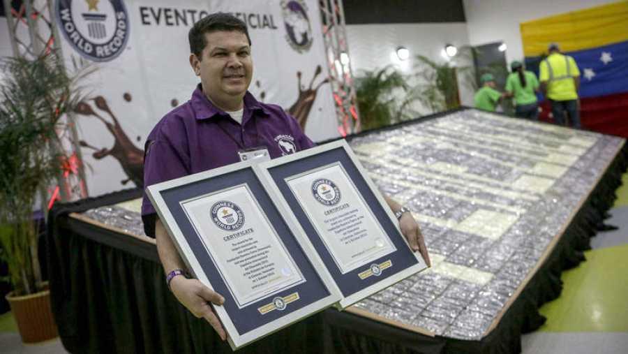 Certificado que otorga el Guinness World Records