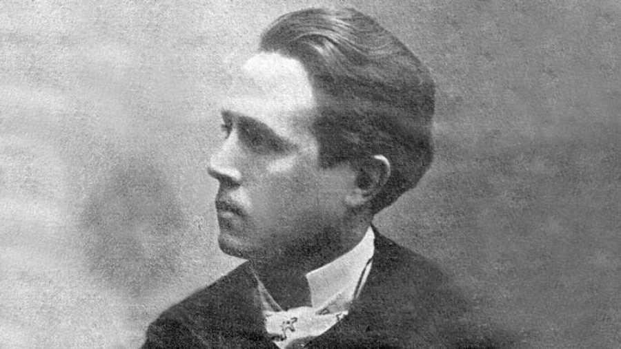 El joven escritor Azorín, en 1903