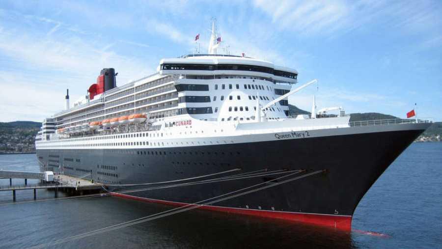 El 'Queen Mary 2', uno de los barcos de pasajeros más grandes del mundo