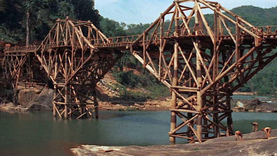 Fotograma de la película 'El puente sobre el río Kwai'