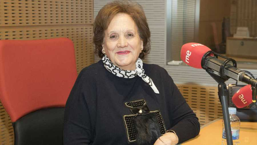 Charo Sánchez, presidenta de la Asociación Casa del Maestro de Valdemoro (Madrid)