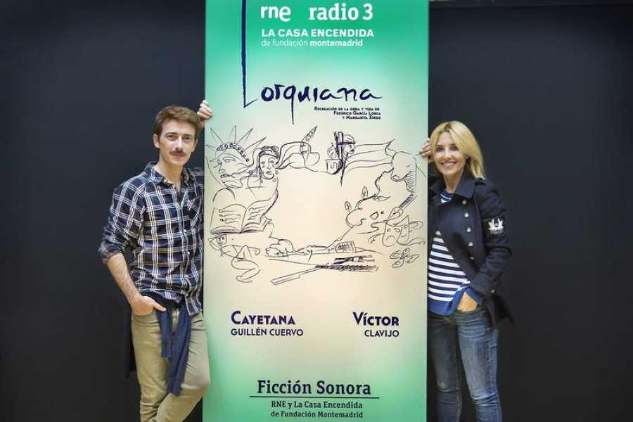 'Lorquiana', con Víctor Clavijo en el papel de Lorca y Cayetana Guillén Cuervo como Margarita Xirgu