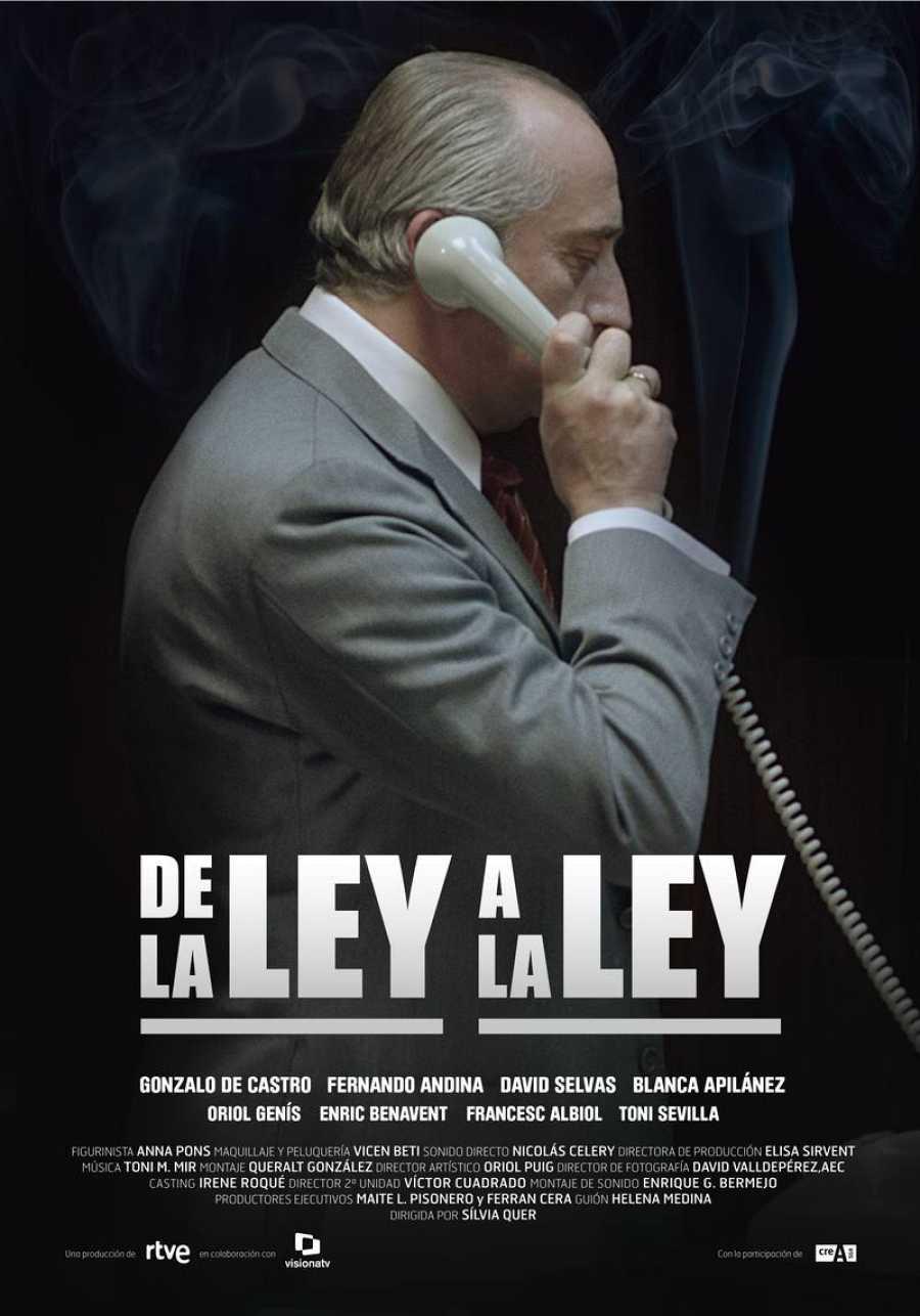 Cartel de la TV movie 'De la ley a la ley'