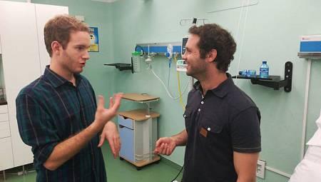 Regresa la integración de personas con discapacidad con el actor con deficiencia auditiva, Carlos Soroa, y el actor intérprete David Martín