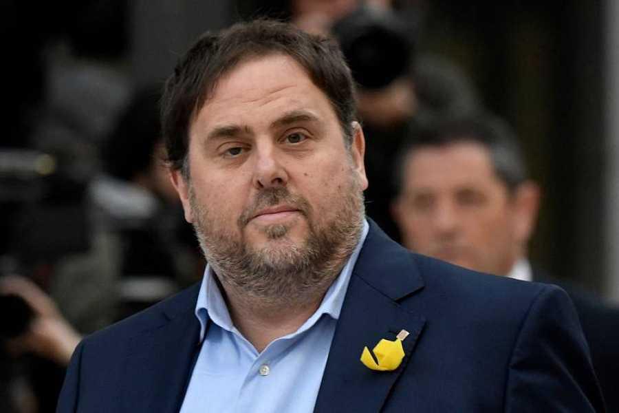 El líder y candidato de ERC, Oriol Junqueras (AFP)