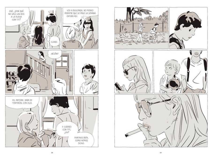 Páginas de 'Una hermana'