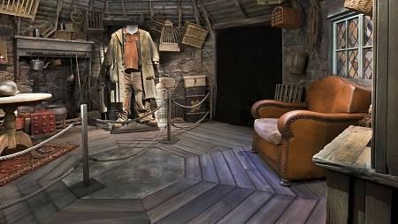 Recreación de la cabaña de Hagrid