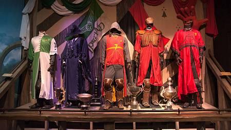 Sala Quidditch en 'Harry Potter. The Exhibition'