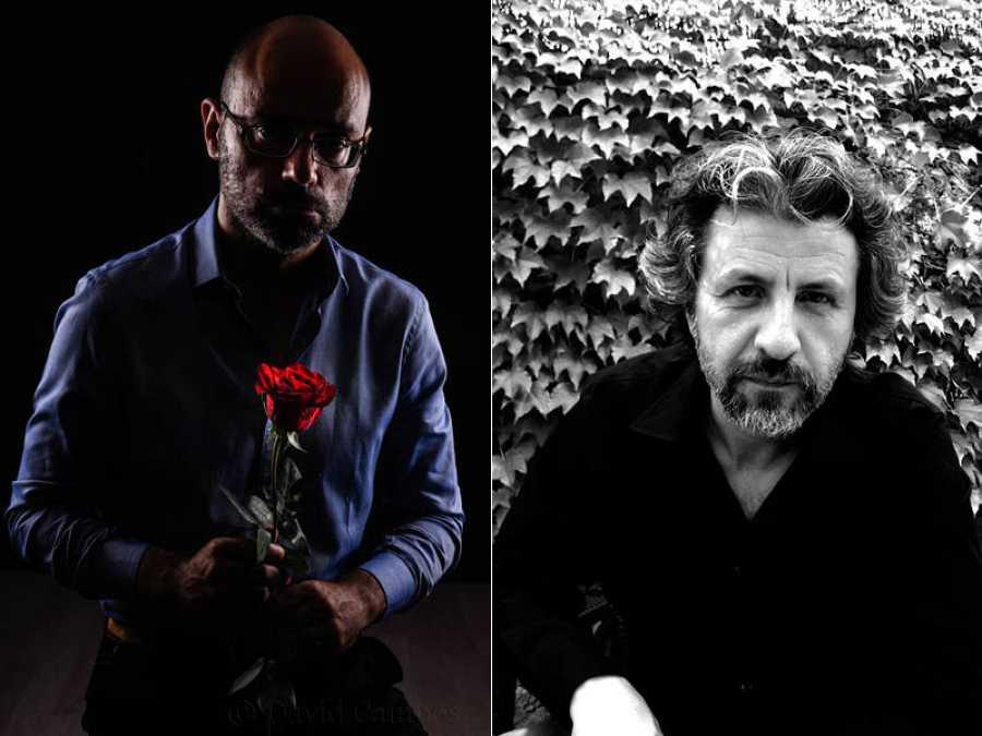 Hernán Migoya (Foto de David Campos) y Bartolomé Seguí