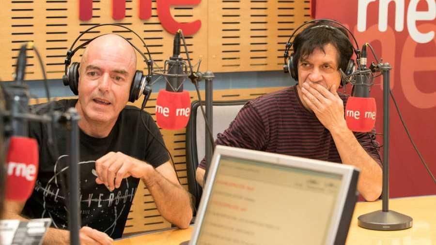 Antonio Arias y Juan Codorniú