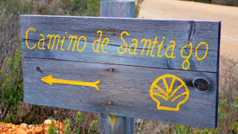 Señalización en el Camino de Santiago