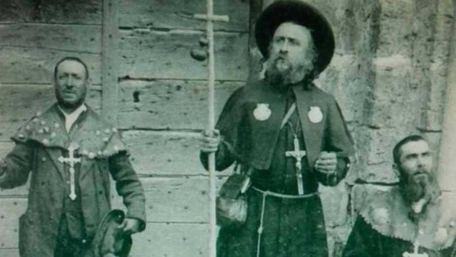 Peregrinos de principios del S.XX