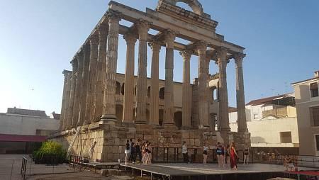 Las calles de Mérida esconden tesoros como el Templo de Diana