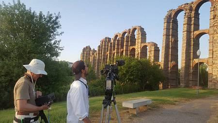 El acueducto de los Milagros, vestigio de la increible ingeniería romana