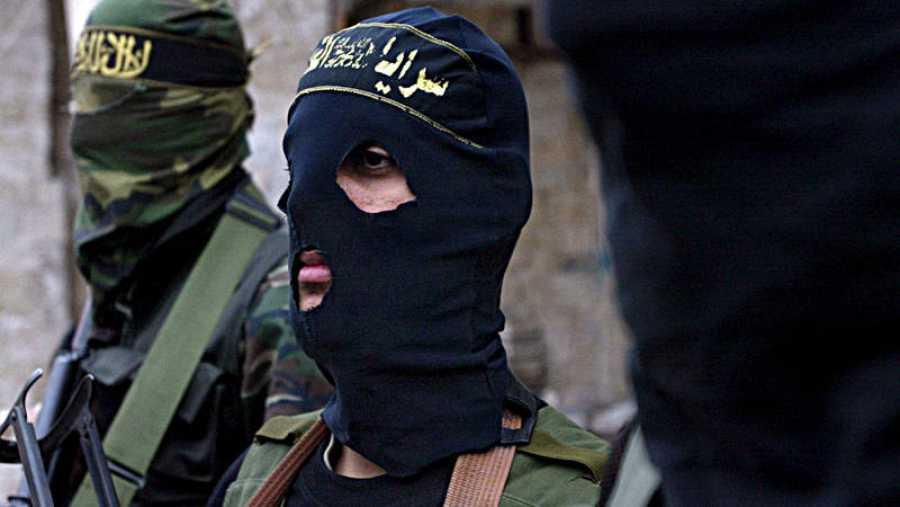Hombres armados de la Yihad Islámica en Gaza (2005)