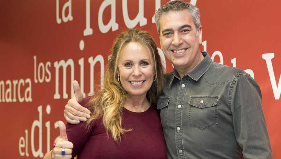 Arturo Martín comparte con Miriam Díaz-Aroca los recuerdos de 'Belle Époque'