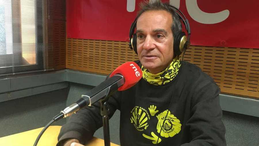 Álvaro Lazaga resume 20.000 kilómetros de Camino