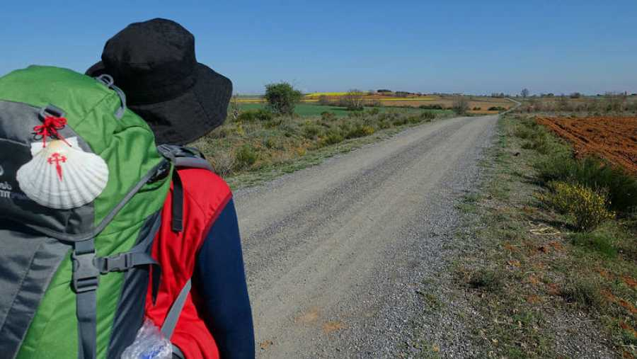 El 90% de los peregrinos realiza el trayecto a pie