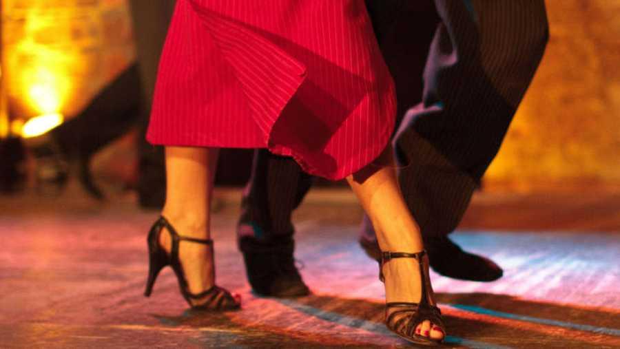 Pasos en el tango