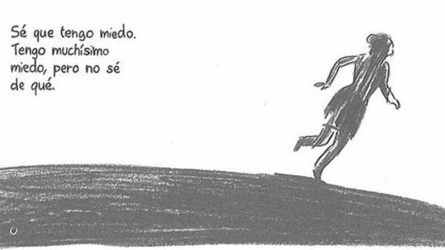 Viñeta de ' El Paréntesis', de Élodie Durand