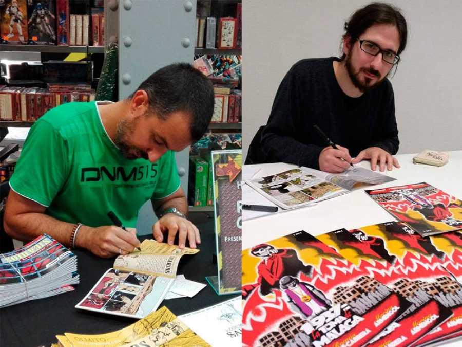 Roberto Corroto y Román López-Cabrera