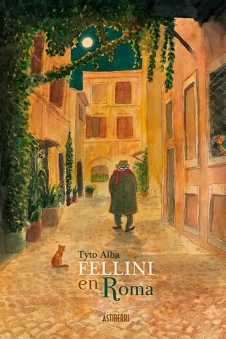 Portada de 'Fellini en Roma'