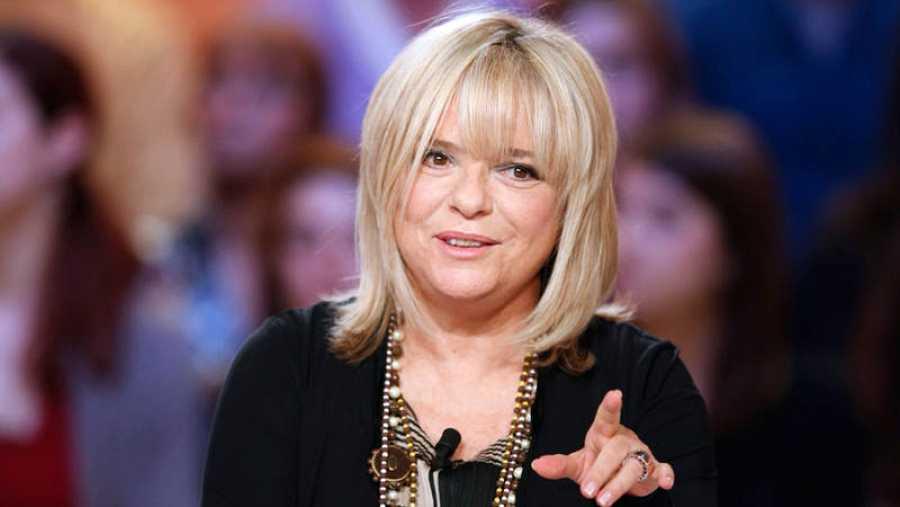 France Gall, durante su participación en un programa de televisión en 2012