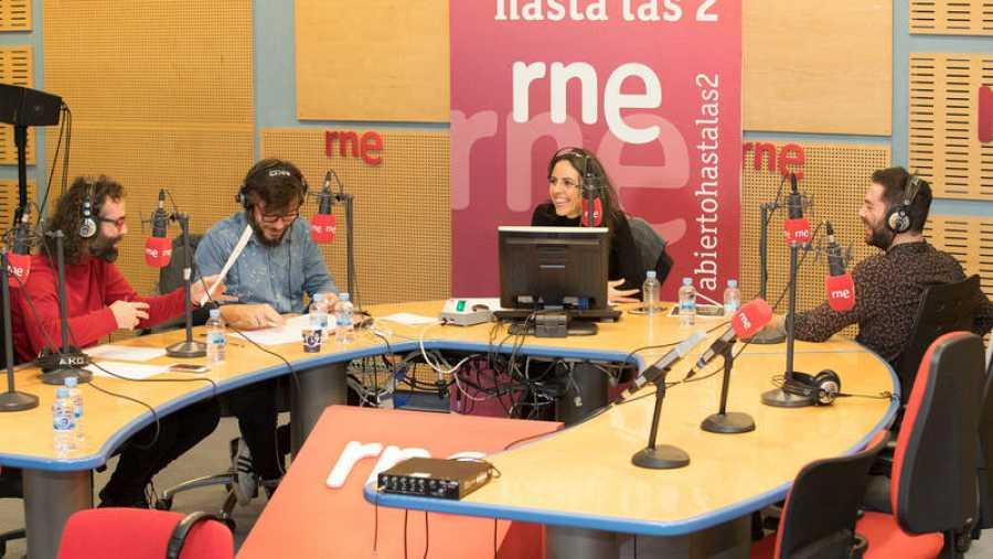 Rafa Val, con Paloma Arranz y el dúo Antílopez
