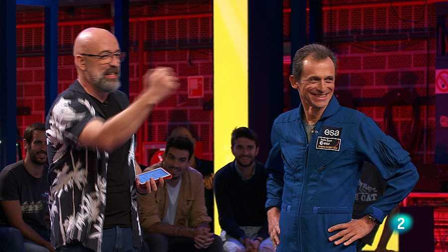 Pedro Duque se teletransporta por el espacio a Órbita Laika