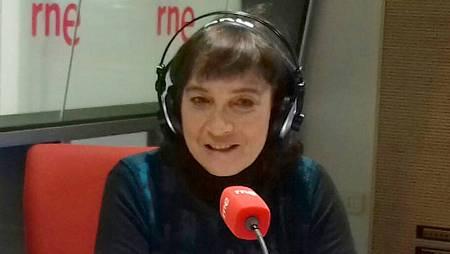 Patricia Ferreira, en un momento de la entrevista.