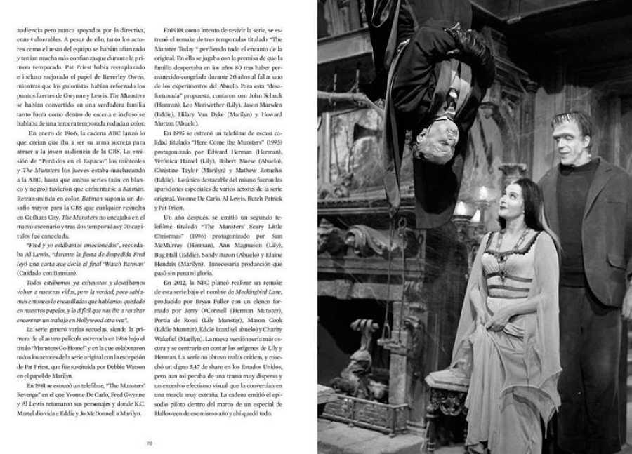 Páginas del libro 'Los Munster. Historia de nuestra familia monstruosa favorita'