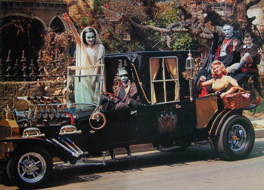El famoso coche de Los Munsters