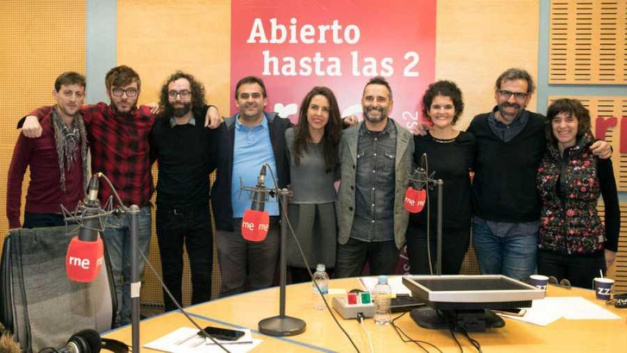 Paloma Arranz, con Drexler y todo su equipo