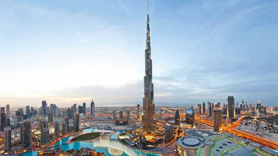 Panorámica del Burj Khalifa